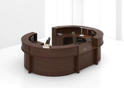 Reception office furniture from lacasse