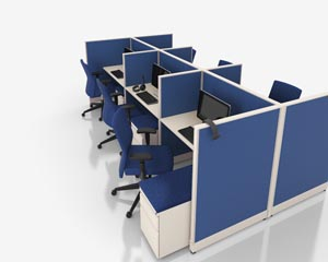 nvision cubicle grouping