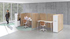 PanGram Panel systems workstations