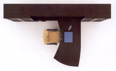 overhead view of sample layout 2
