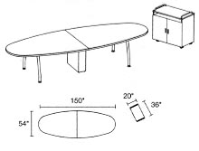 quorum conference table sample layout 3