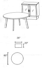 quorum conference table sample layout 5