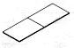 2 piece rectangular tops