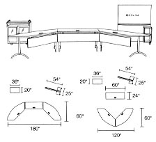 modular tables layout 3