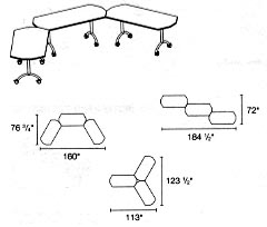 traing tables layout 3