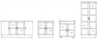 aluminum door positions