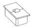 rectangular grommet