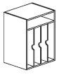 vertical organizer