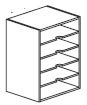 horizontal organizer