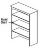 2dr lateral file hutch
