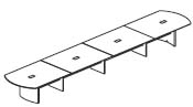 24' conference table
