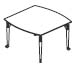 concave nesting table