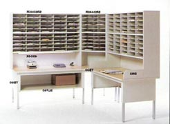 Mayline Mailroom Furniture and Systems