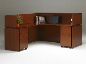 All Stella Reception Stations Are Offered With Optional Universal Returns That Mount On Either The Right