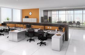 Transaction series collaborative office furniture by mayline