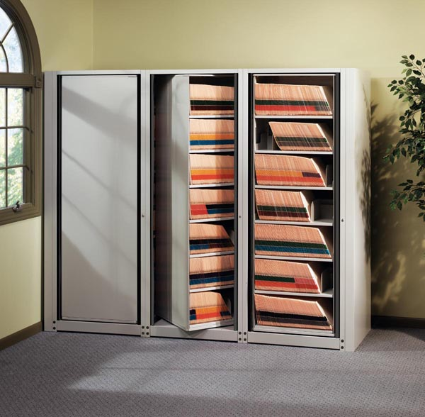 Arc Rotary Storage System open view