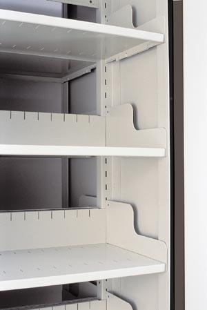 arc rotary file shelves look