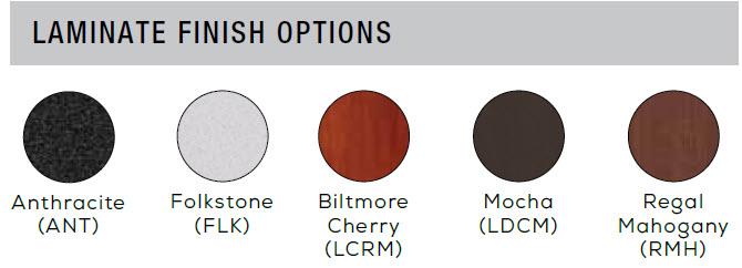 Flip-n-gold laminate color chart