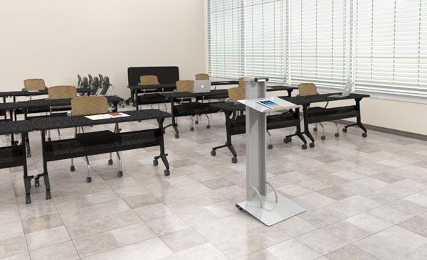 Flip-n-go nestable training tables