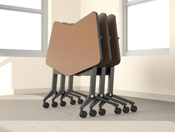 Flip-n-Go nesting tables