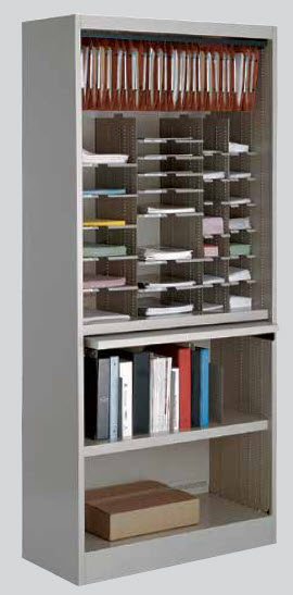 forms and storage cabinet