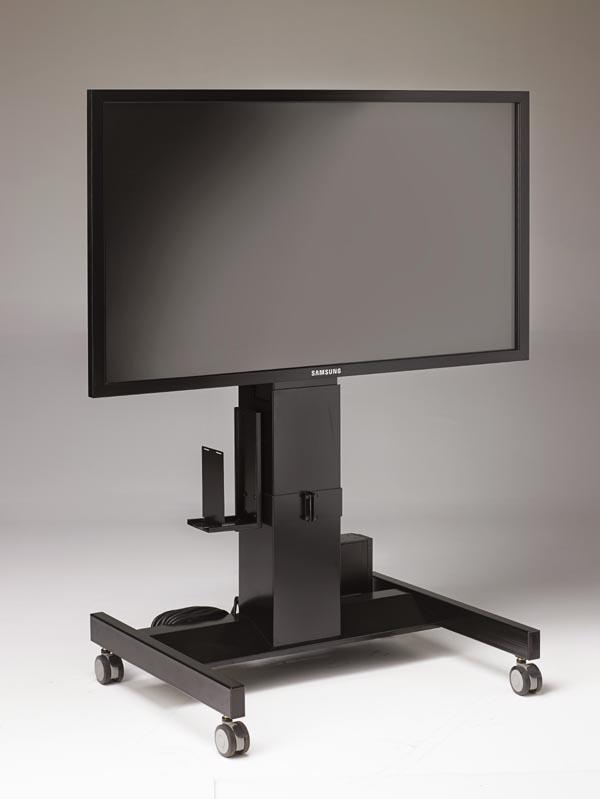 height adjustable media center