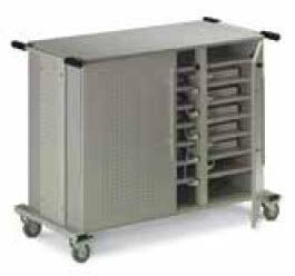 laptop storage cart