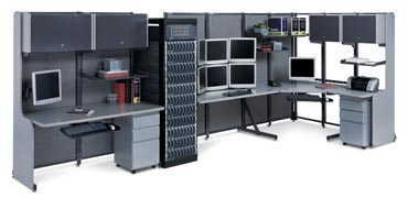 maytrix series LAN racking furniture
