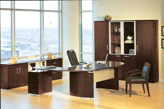 Mayline Veneer Office Furniture