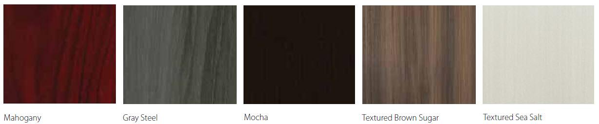 Medina finish options