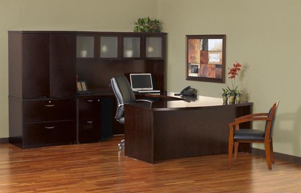 "mira ""U"" desk suite"