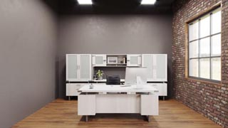 Mirella Series Executive Office Suite