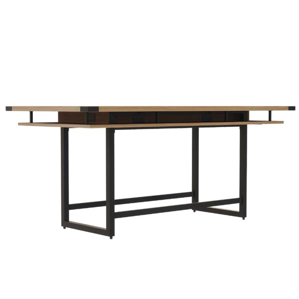 Mirella standing height conference table