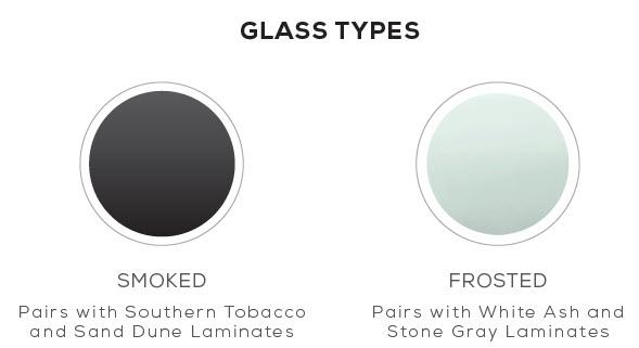 mirella glass types