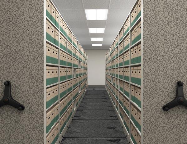 Mobile 1000 file box storage