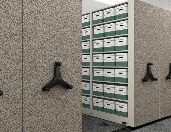 Mobile 1000 high density storage