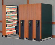 mobile lite high density filing system