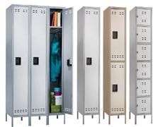 steel lockers