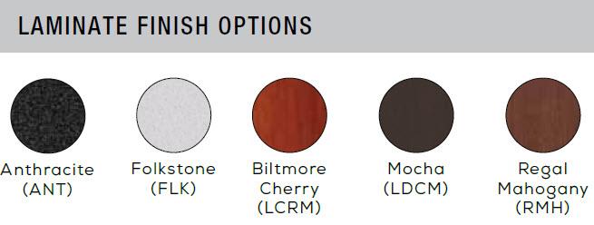 Sync laminate finish options