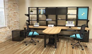 TechWorks series technology furniture
