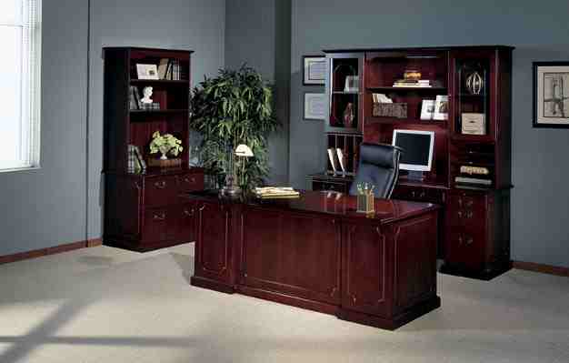 Mayline Toscana Series Veneer Traditional Office Furniture Classy Mailroom Furniture Exterior