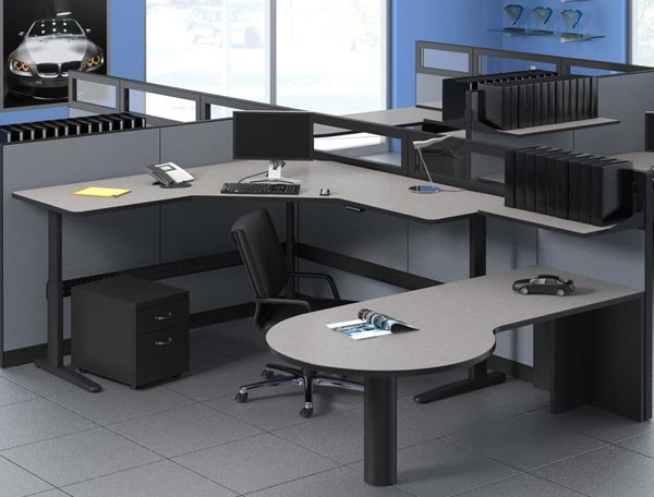 XR height adjustable office