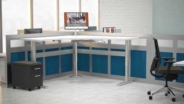 XR series height adjustable workstation