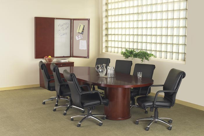 conference table with wall mount conference cabinet