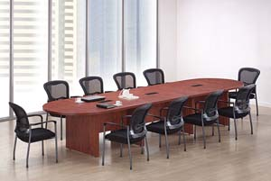 12' Racetrack conference table