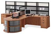 Boarders collection laminate modular workstation divider panel system for workstation desktops