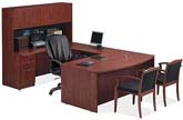 PLE series contemporary laminate executive office furniture