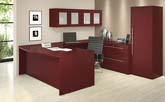 ALPW Series contemporary veneer office furniture