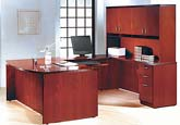Contemporary collection executive veneer office furniture