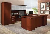 Copacabana series veneer modular office furniture with a moderen flair